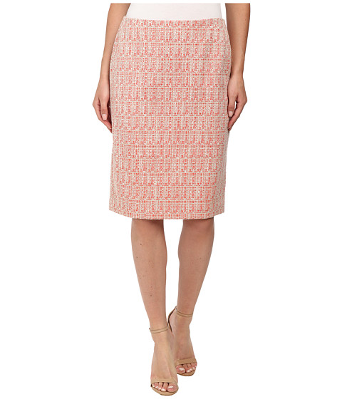 Anne Klein - Ribbon Tweed Pencil Skirt (Sun Up Combo) Women