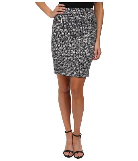 MICHAEL Michael Kors - Woodbridge Pencil Skirt (Black) Women