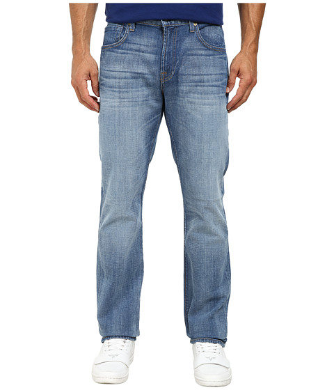 7 For All Mankind - The Straight Jeans in Air Blue (Air Blue) Men