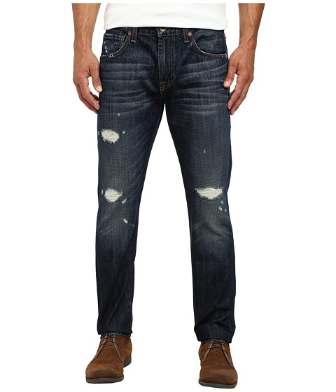 7 For All Mankind - Paxtyn Clean Pocket Jeans in Bonzai Blue (Bonzai Blue) Men
