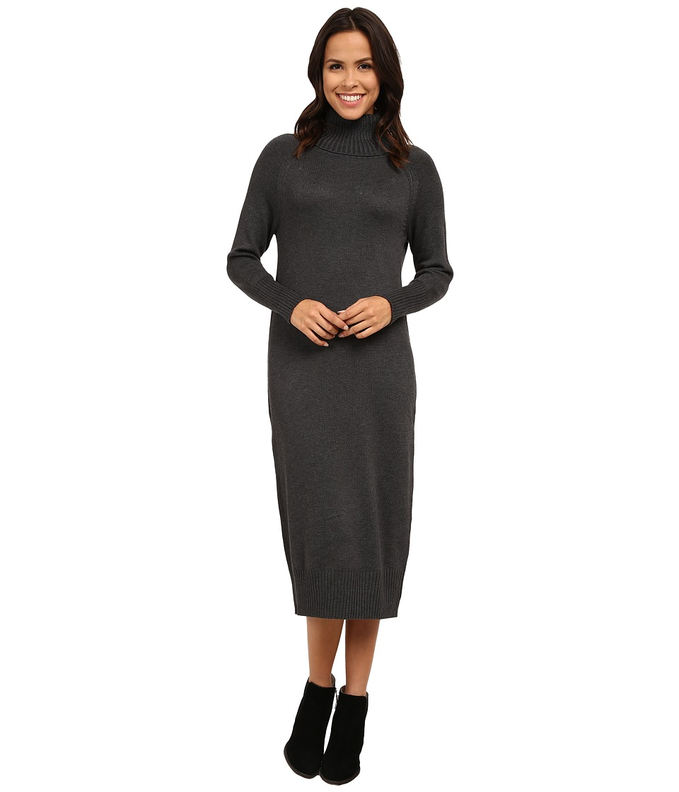 Vince Camuto - Turtleneck Maxi Sweater Dress (Medium Heather Grey) Women's Dress