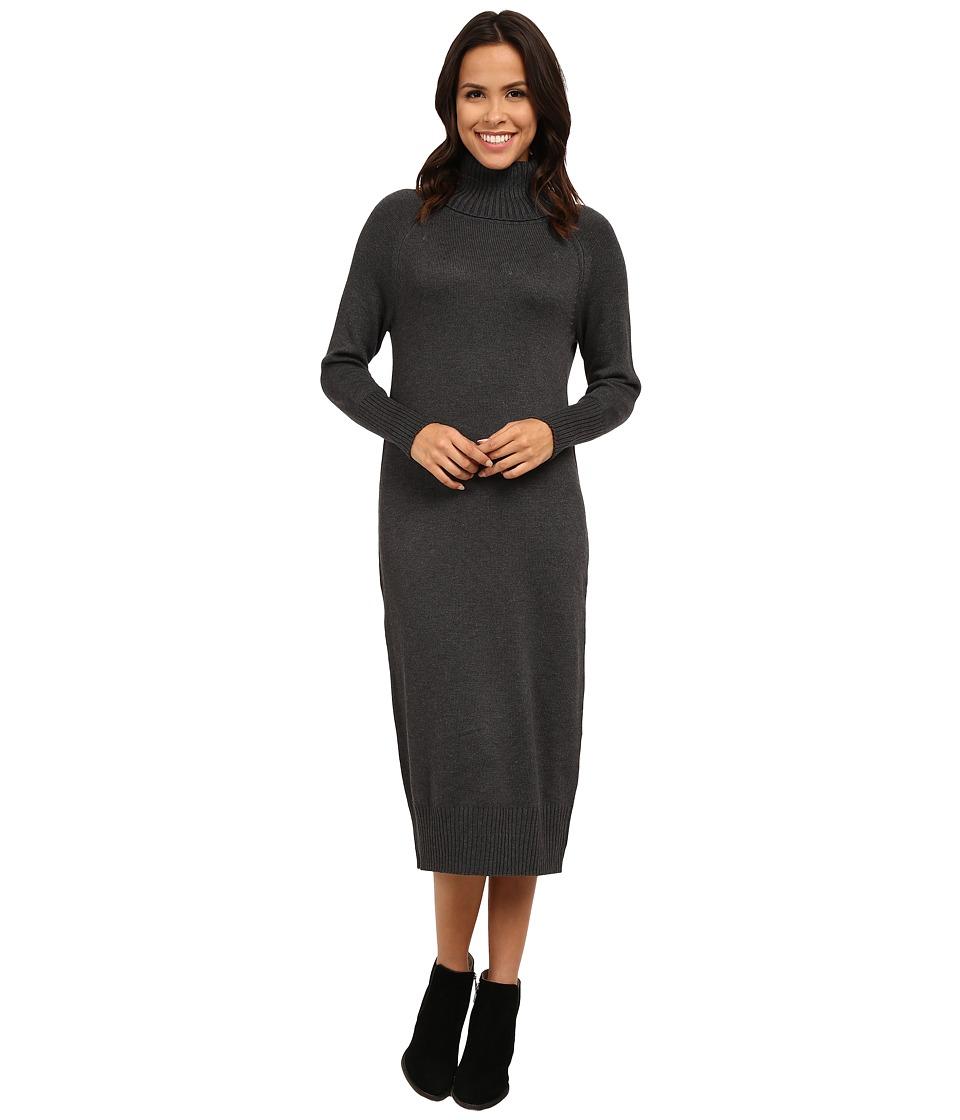 Vince Camuto - Turtleneck Maxi Sweater Dress (Medium Heather Grey) Women's Dress