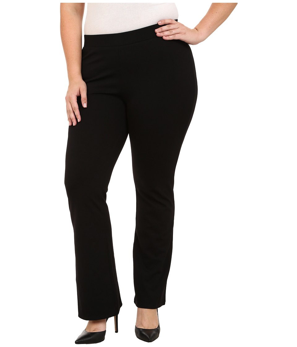 Vince Camuto Plus - Plus Size Flared Leggings (Rich Black) Women's Casual Pants