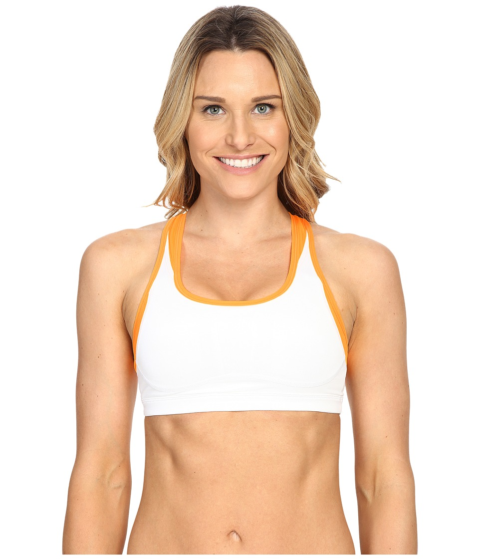 New Balance - The Shapely Shaper Fitted Bra (Impulse/White) Women's Bra