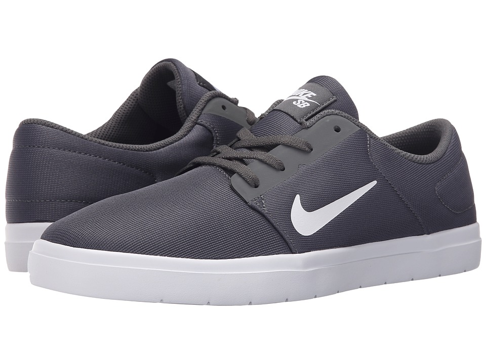 Nike SB Portmore Ultralight Mesh (Dark Grey/White) Men