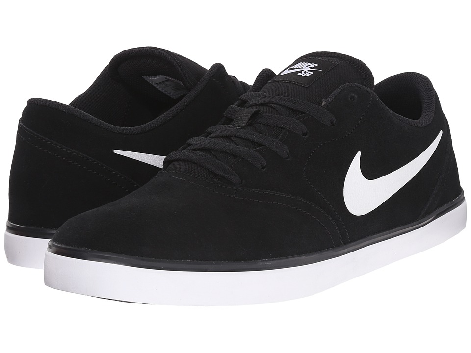 Nike SB - Check (Black/White 2) Men's Skate Shoes