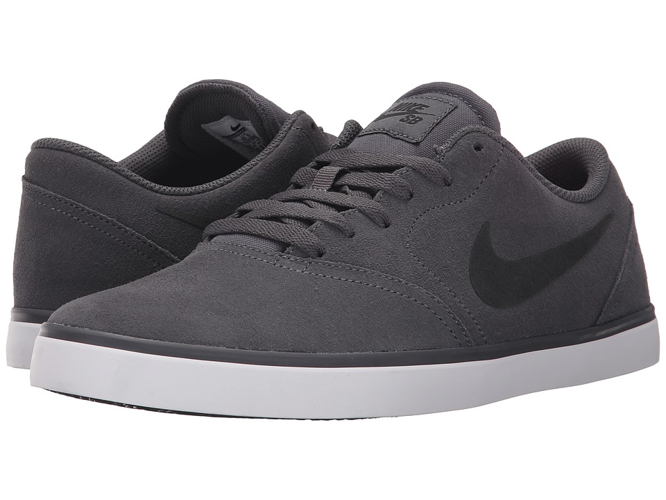 Nike SB - Check (Dark Grey/White/Black 2) Men's Skate Shoes