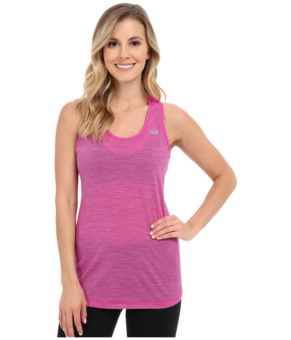 New Balance Performance Merino Tank Top (Azalea) Women