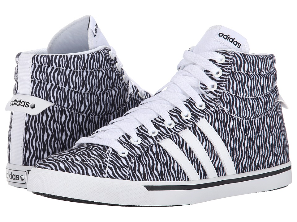 adidas - Park ST Mid (White/White/Black) Women's Shoes