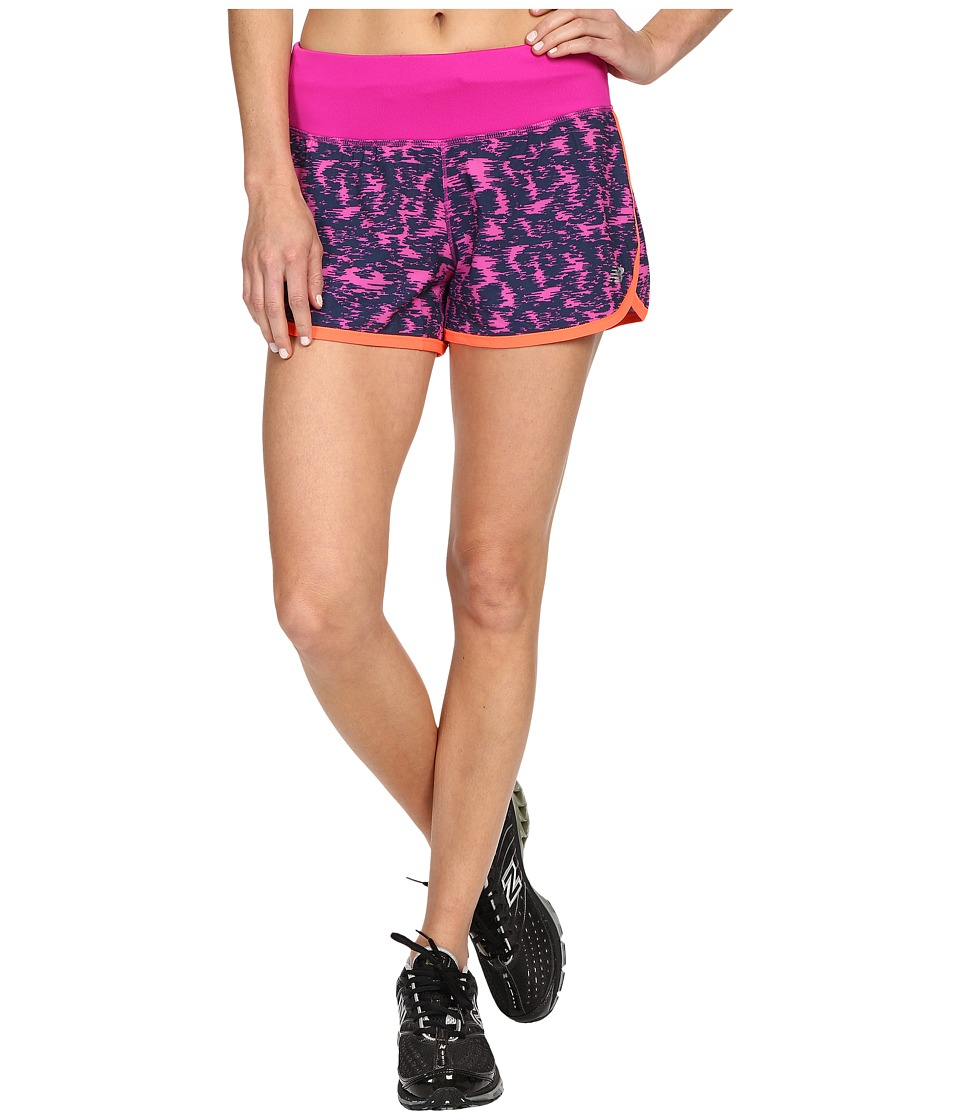 New Balance - Impact 3 Shorts (Azalea/Multi/Impulse) Women's Shorts