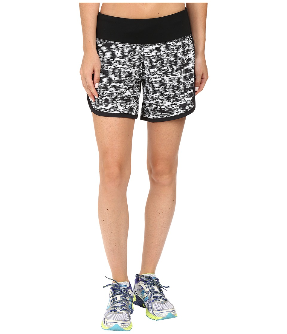 New Balance - Impact 5 2-in-1 Short (Black/Multi) Women's Shorts