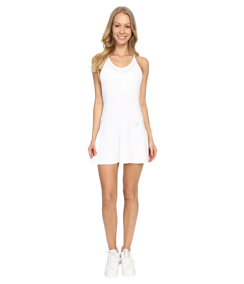 New Balance - Tournament Dress (White) Women's Dress