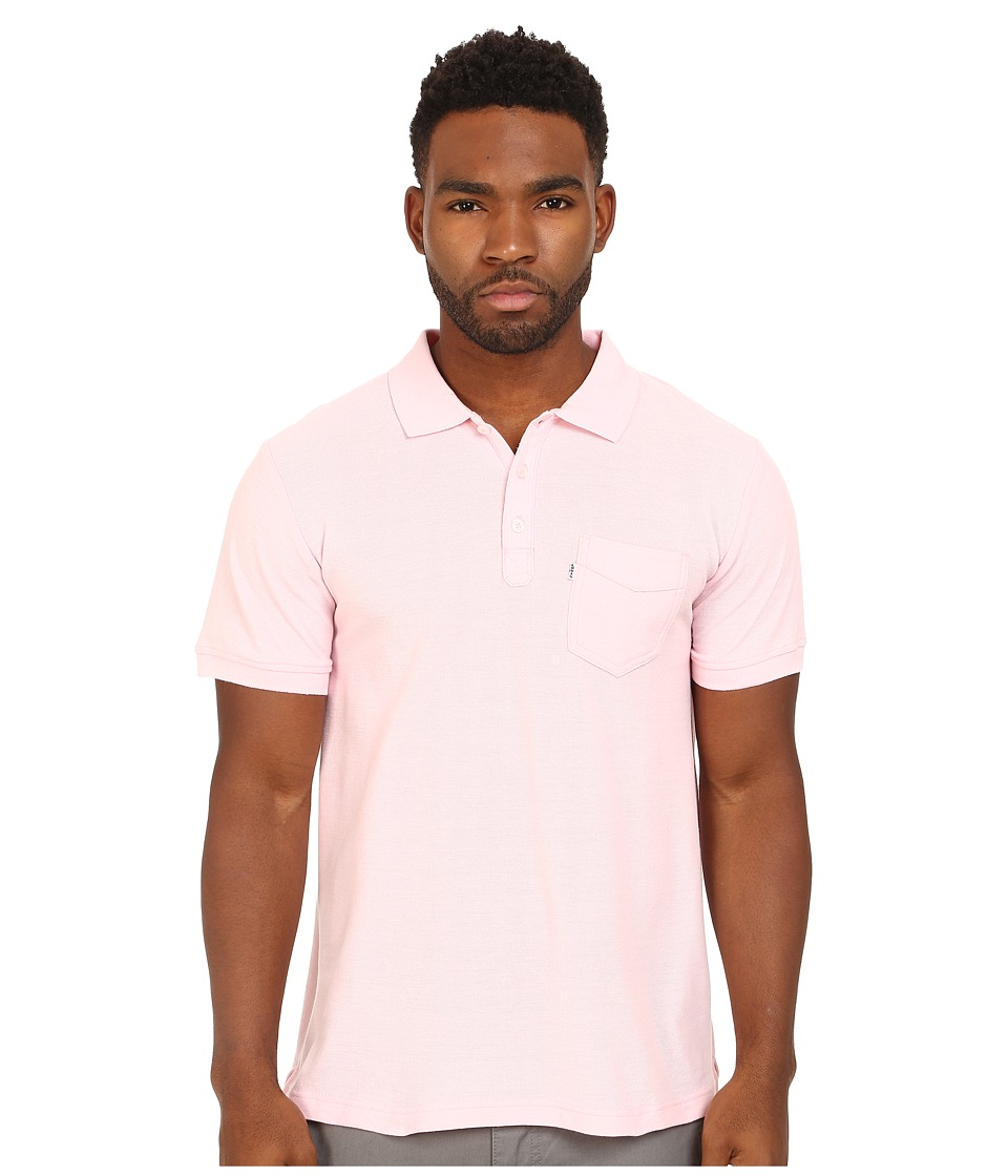 Levi's(r) - Rillo Pique Polo Shirt (Rose Shadow) Men's Short Sleeve Pullover