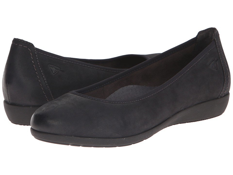 Tamaris - Catrina 1-1-22112-25 (Black) Women's Flat Shoes