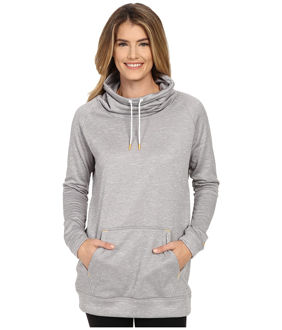 New Balance - Sunrise Sweatshirt (Light Grey Heather) Women's Sweatshirt