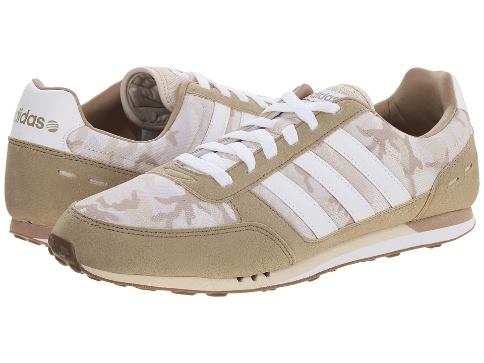 adidas - City Racer (Cargo Tan/White/Bone) Men's Shoes