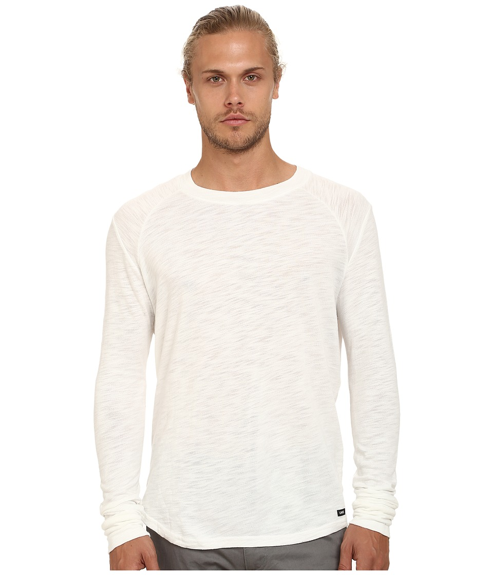 UNCL - Long Sleeve Raglan (White) Men's Long Sleeve Pullover