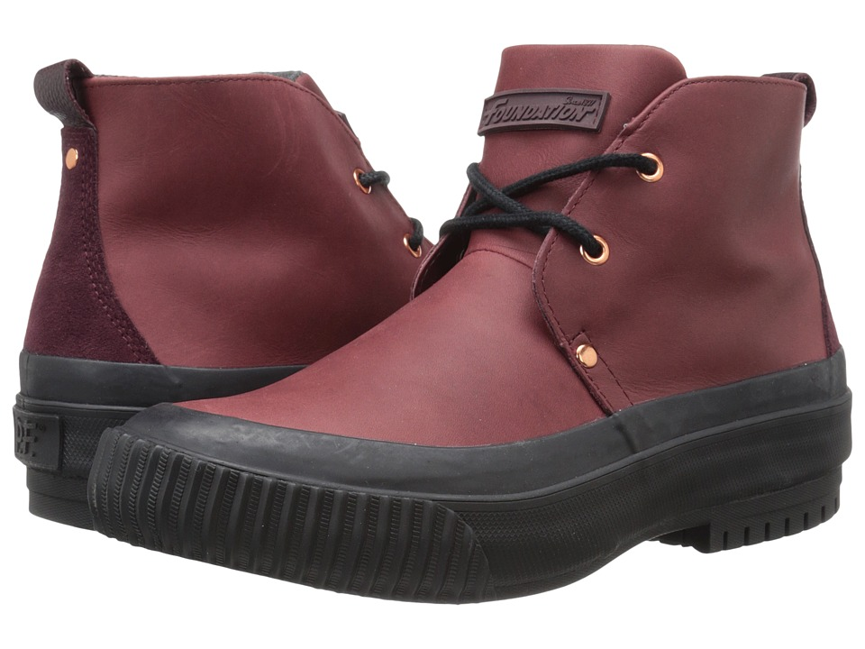 PF Flyers - Hi Press (Burgundy) Men