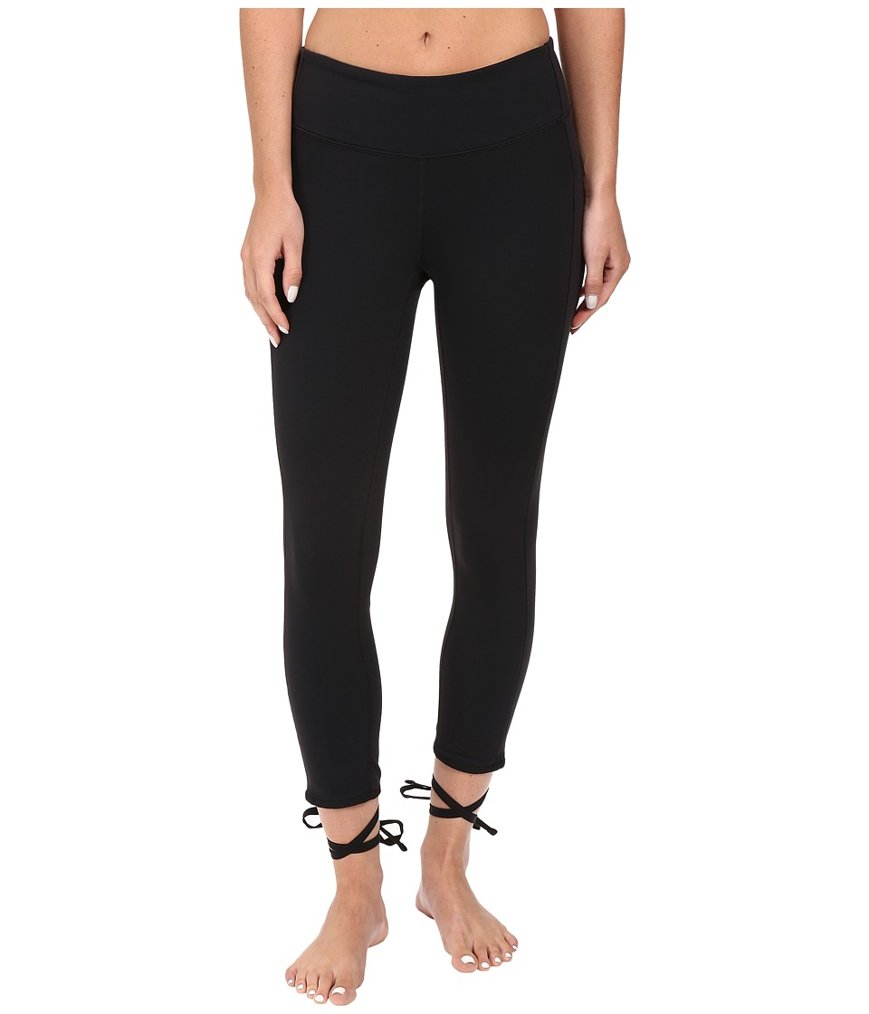 New Balance - Tied Tights (Black) Women's Casual Pants