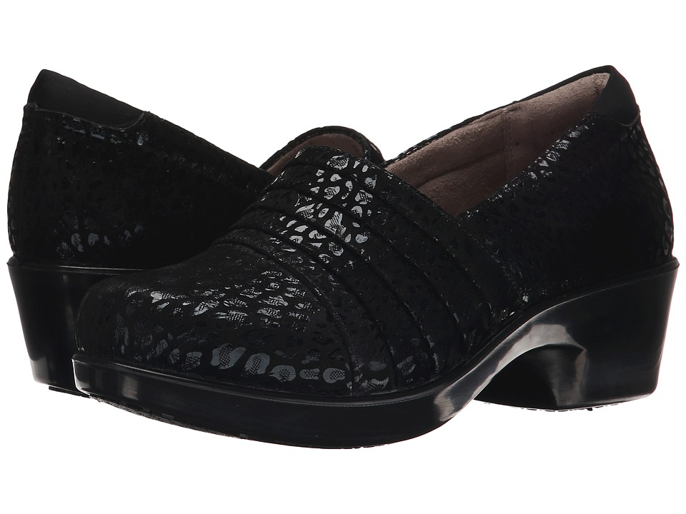 Naturalizer Fanfare (Black On Black Cheetah Leather) Women