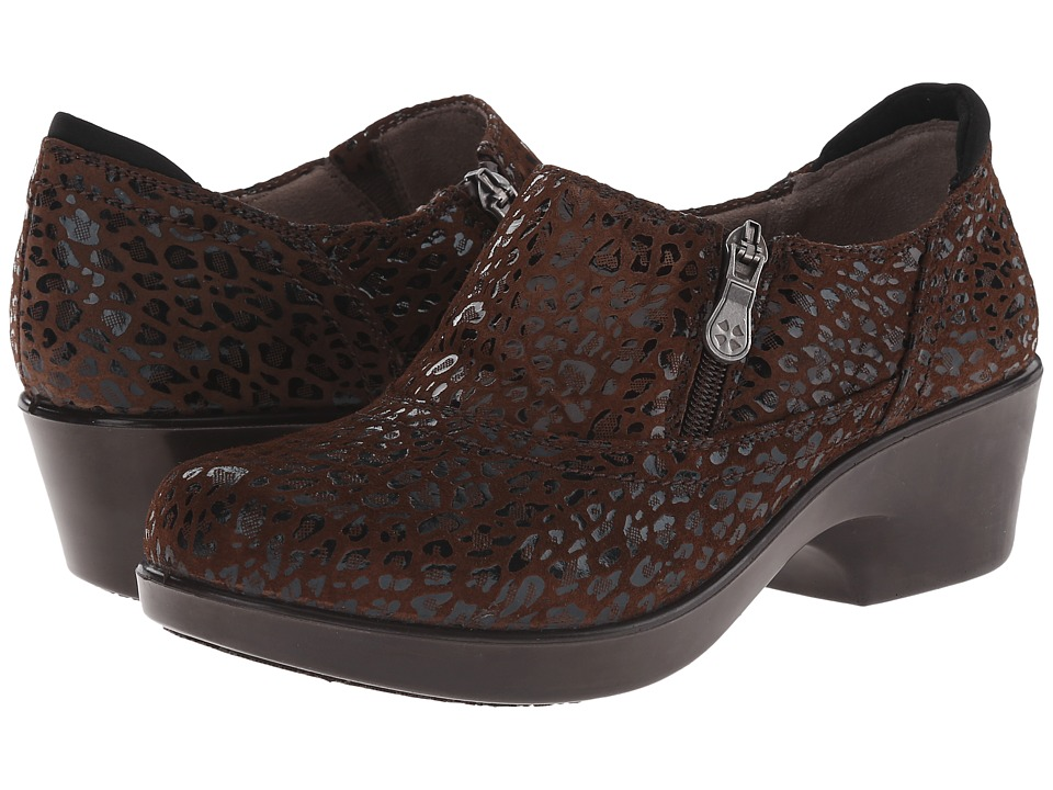 Naturalizer - Florence (Brown Cheetah Leather) Women's Shoes