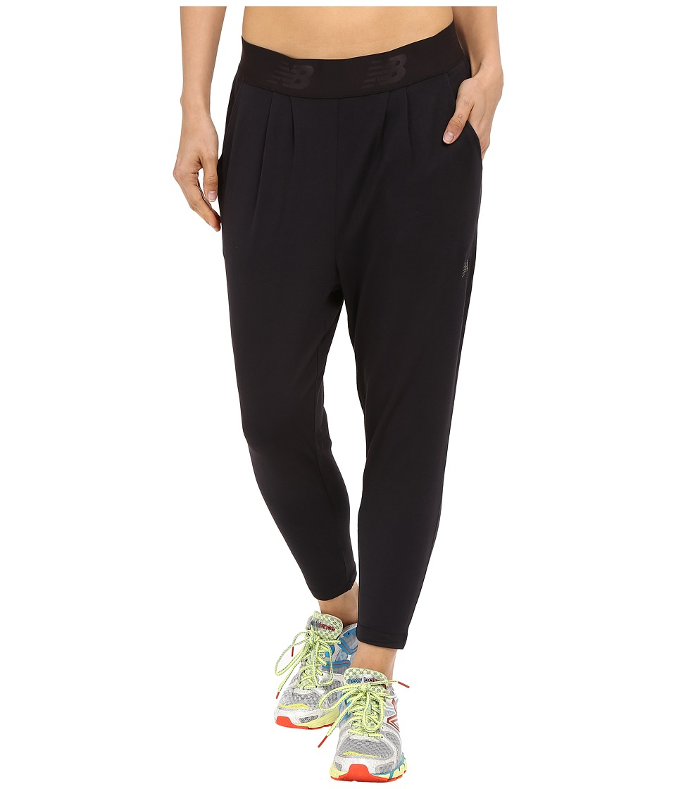 New Balance - Soul Pants (Black Heather) Women's Casual Pants