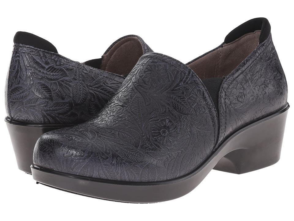 Naturalizer - Freeda (Black Tooled Leather) Women's Shoes