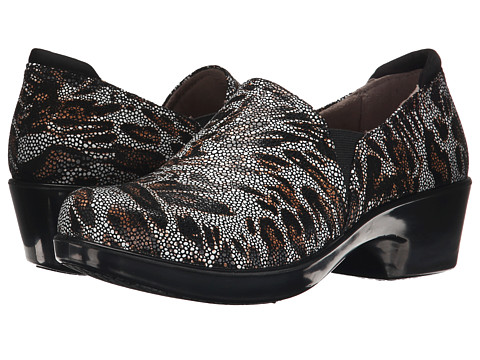 Naturalizer - Freeda (Spot Animal Print/Black Leather) Women