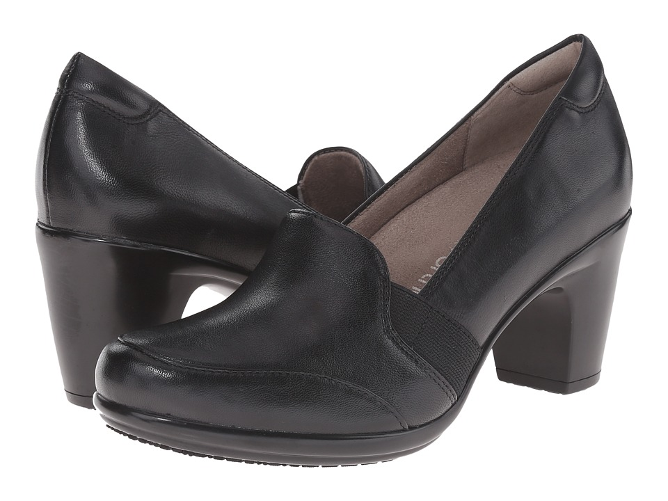 Naturalizer - Vinette (Black Leather) High Heels
