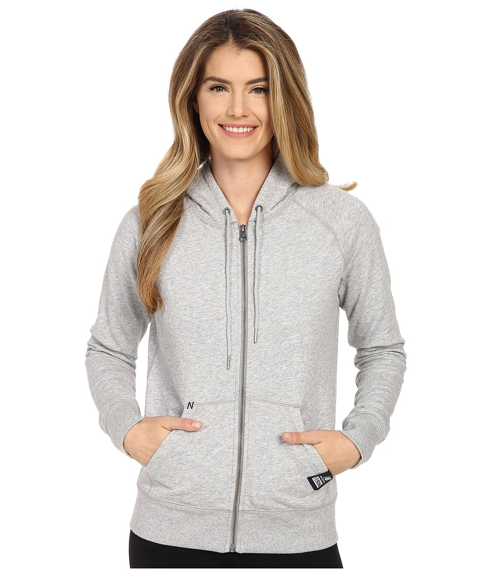New Balance - Full Zip Fleece Hoodie (Athletic Grey) Women's Sweatshirt