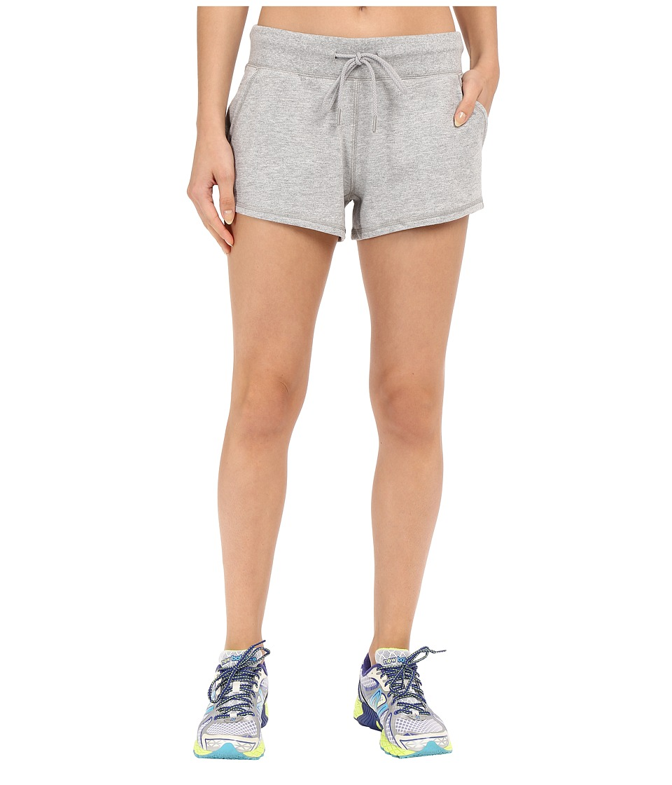 New Balance - French Terry Shorts (Athletic Grey) Women's Shorts