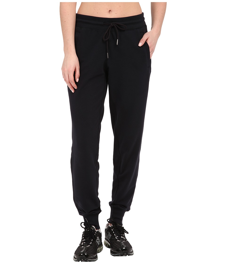 New Balance - Essentials Classic Sweatpant (Black) Women's Casual Pants