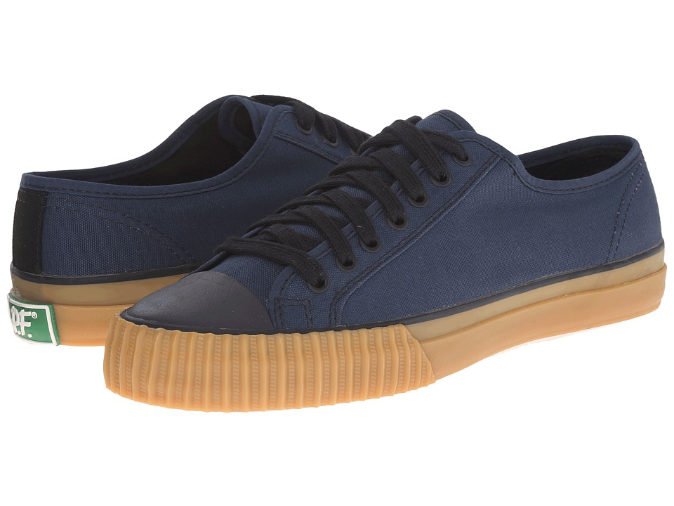PF Flyers - Center Lo Retro Athletic (Navy) Men's Shoes