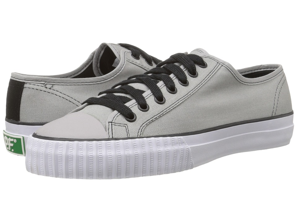 PF Flyers - Center Lo Retro Athletic (Grey) Men's Shoes