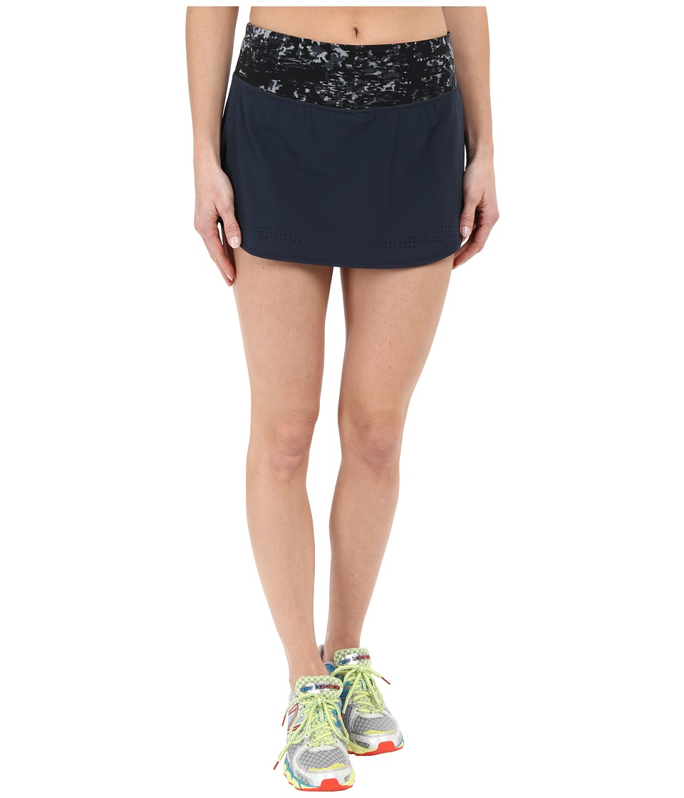 New Balance - Woven Skort (Black/Grey/Thunder) Women's Skort