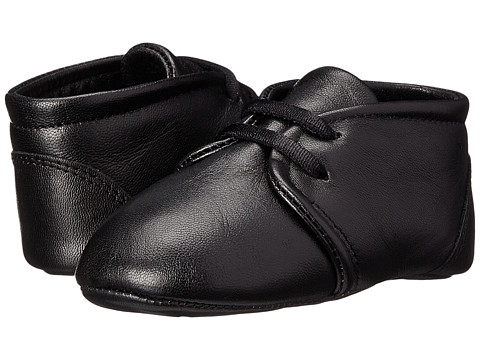 Dolce & Gabbana - Low Lace Up (Infant/Toddler) (Black) Men's Slip on Shoes