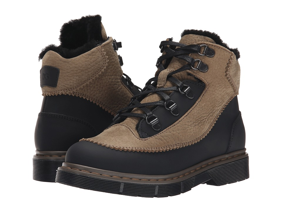 Dolce & Gabbana Kids - Hiking Boot (Little Kid/Big Kid) (Black/Brown) Boys Shoes