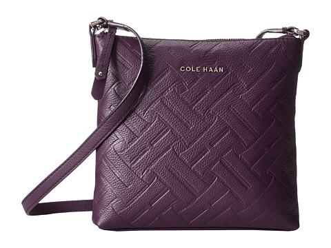 Cole Haan - Hollis N/S Crossbody (Elderberry) Cross Body Handbags