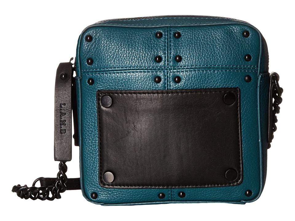 L.A.M.B. - Inez (Teal) Cross Body Handbags