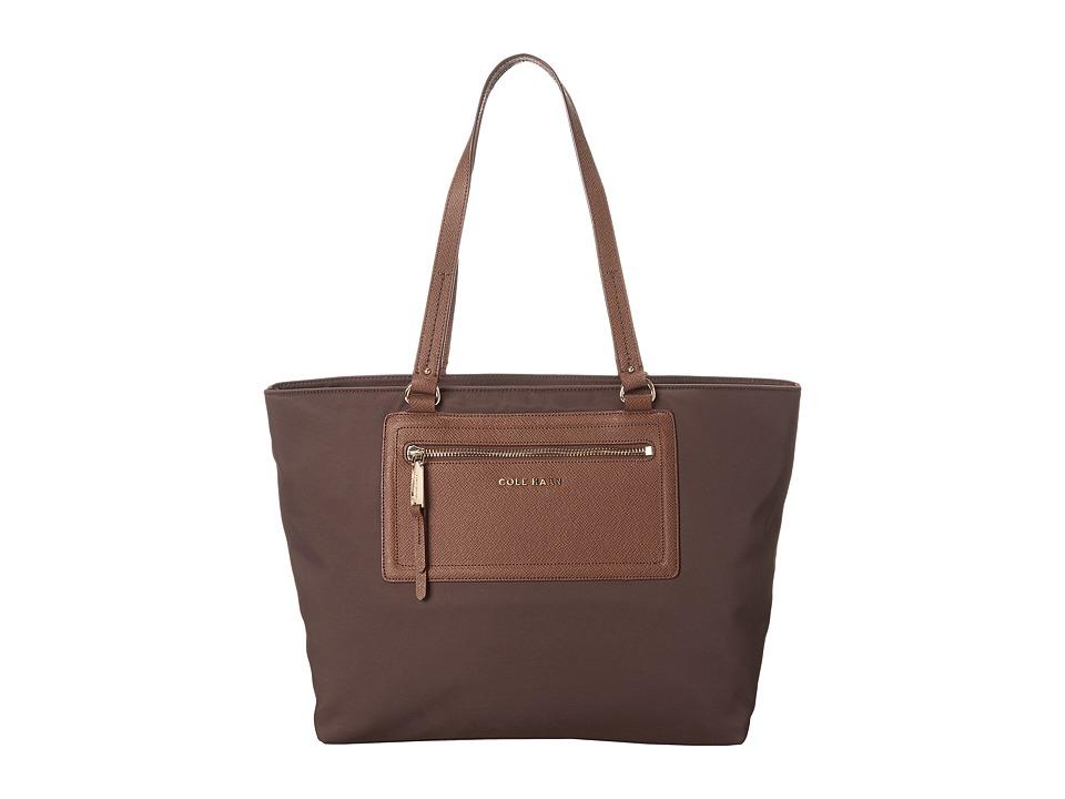 Cole Haan - Acadia Tote (Chestnut) Tote Handbags