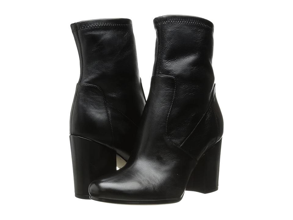 Via Spiga - Benita (Black Plonge Matte/Stretch Nappa) Women's Boots
