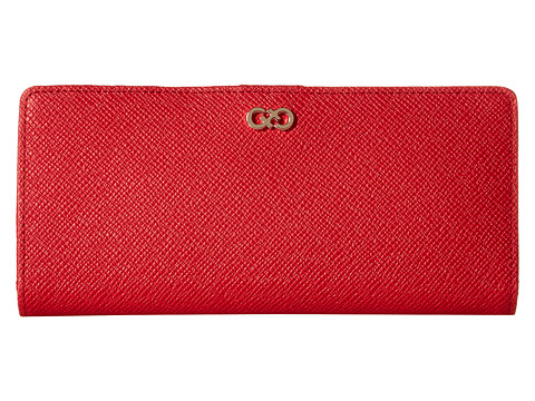 Cole Haan - Amalia Slim Wallet (Tango Red) Wallet Handbags