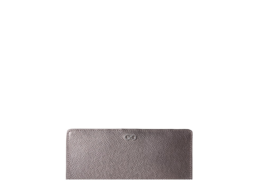 Cole Haan - Amalia Slim Wallet (Dark Silver) Wallet Handbags