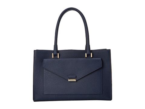 Cole Haan - Amalia Large Satchel (Blazer Blue) Satchel Handbags