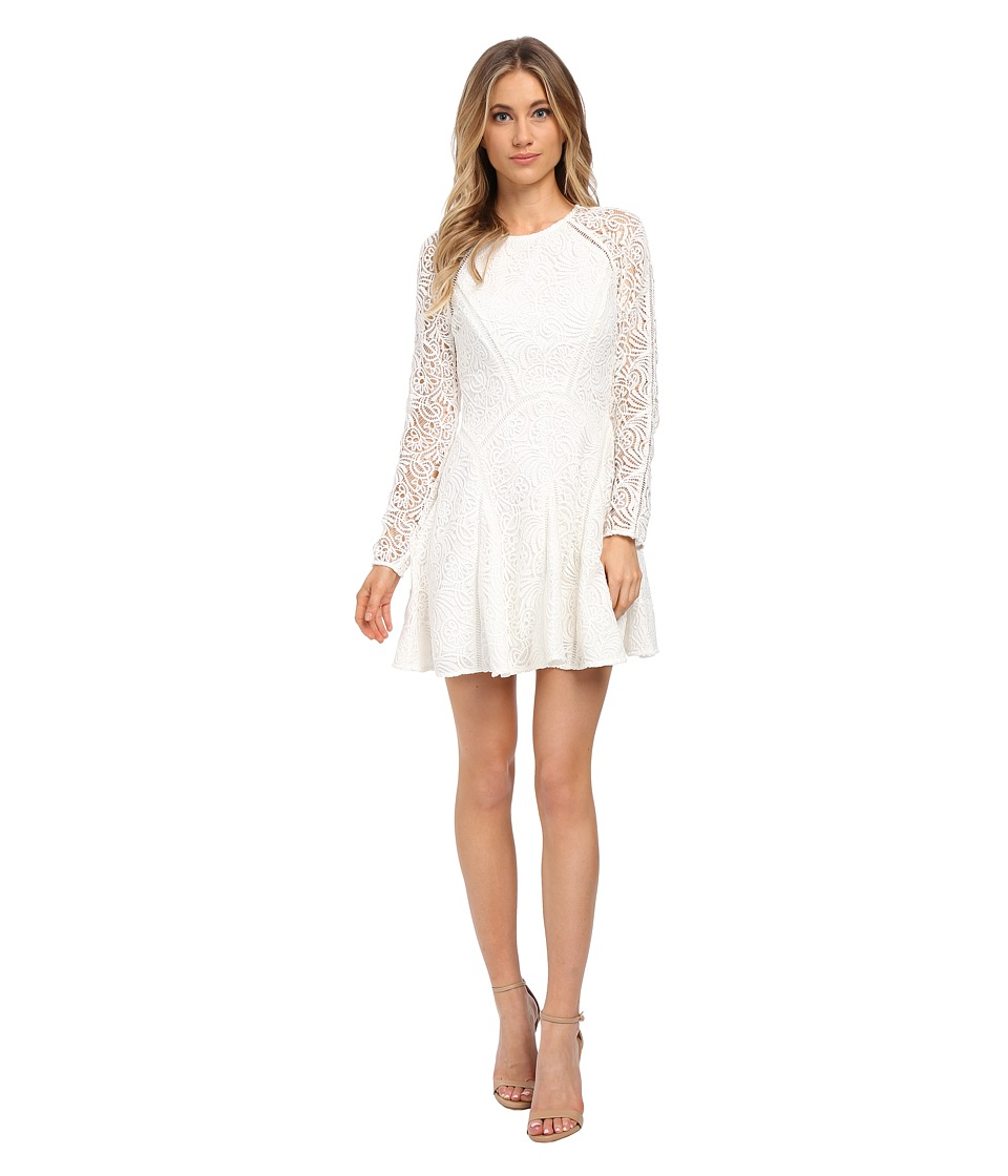 StyleStalker - Vanity Circle Dress (Blanc) Women's Dress