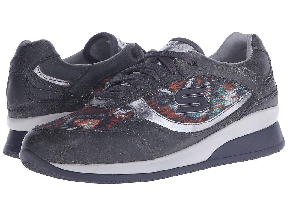 SKECHERS - Vita - Vivere (Black) Women's Lace up casual Shoes