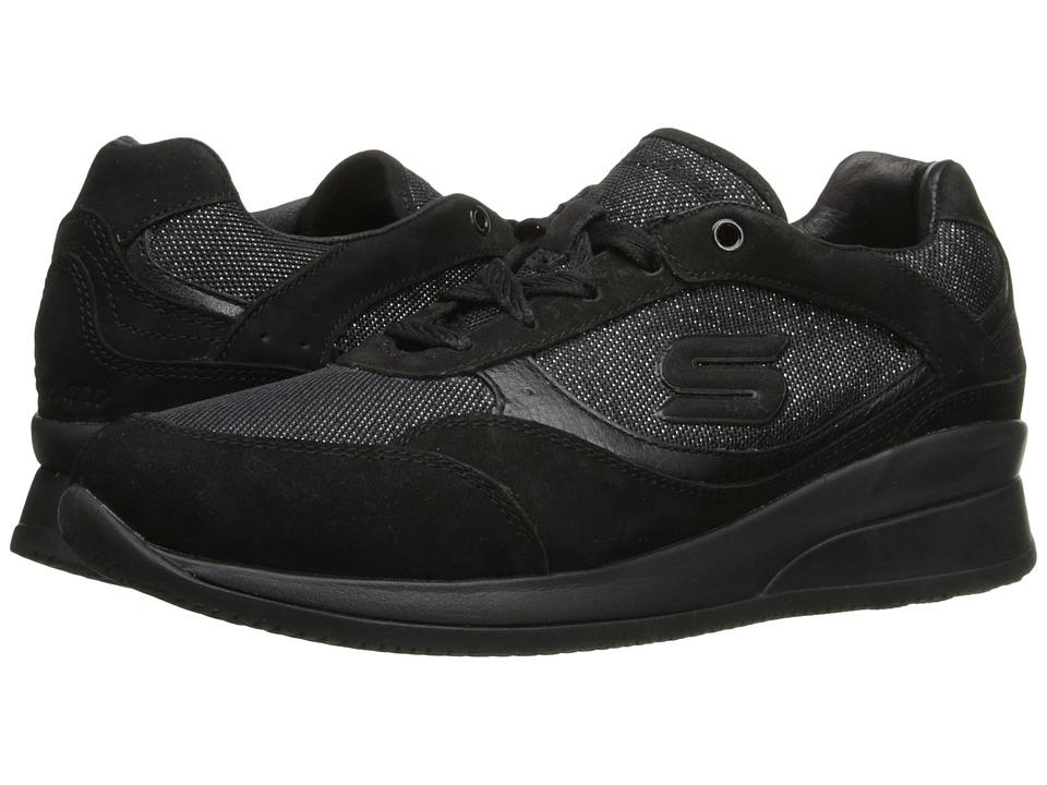 SKECHERS - Vita (Black) Women's Lace up casual Shoes