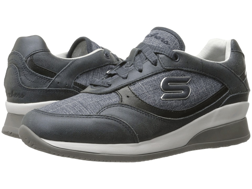SKECHERS - Vita - Luca (Navy) Women's Lace up casual Shoes