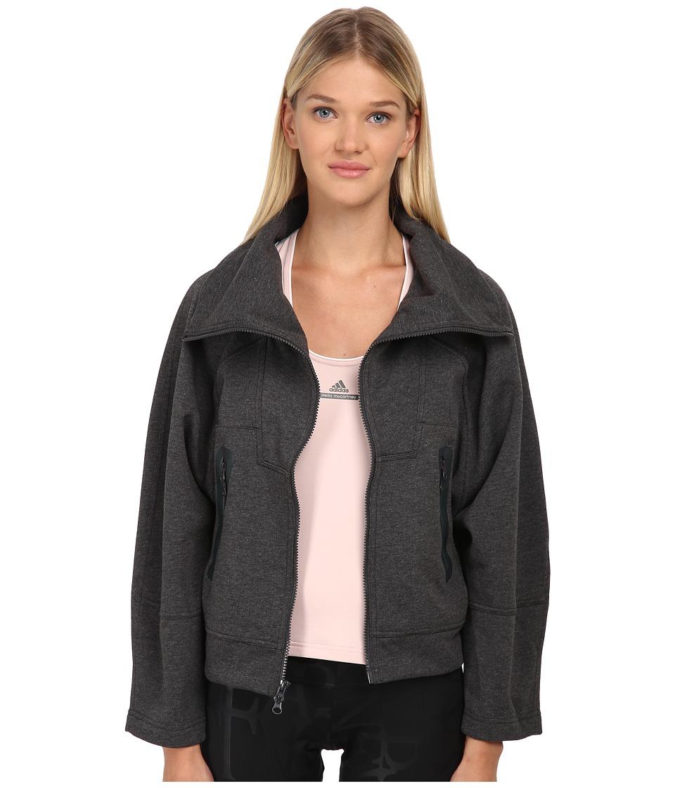 adidas by Stella McCartney - Melange Midlayer AA9168 (Dark Heather) Women's Coat