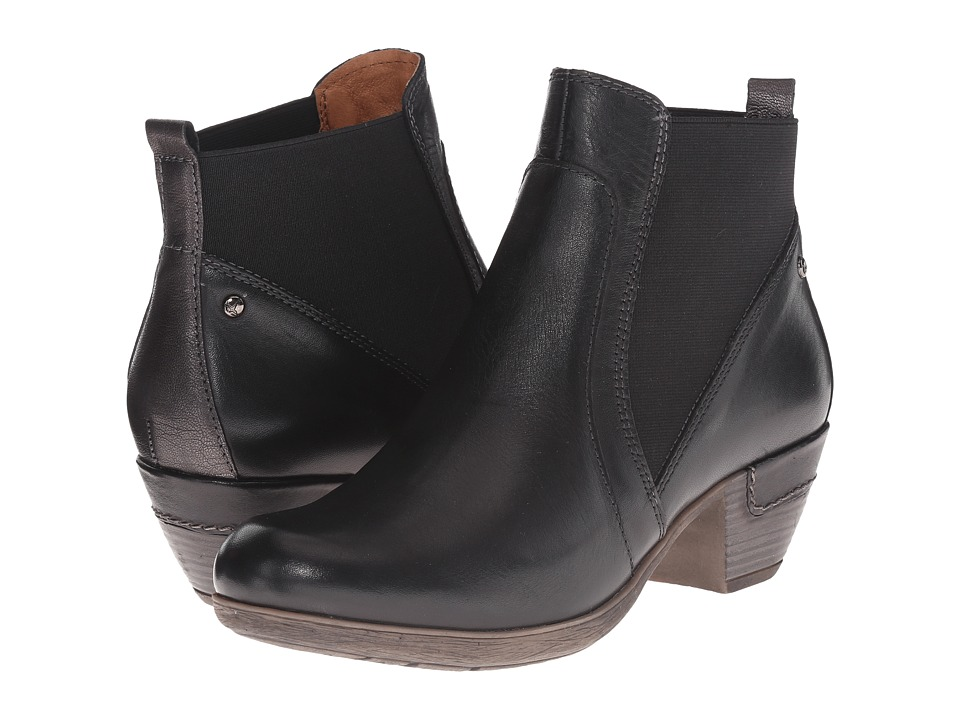 Pikolinos - Rotterdam 902-8553C1 (Black) Women's Pull-on Boots